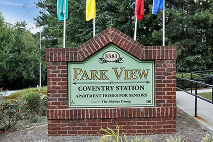 Park View at Convenry Station Monument Sign