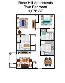 Rose Hill Apartments - 2 BdRm.jpg