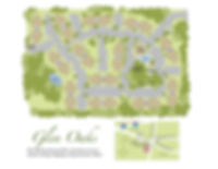 Glen Oaks Apartment Site Map
