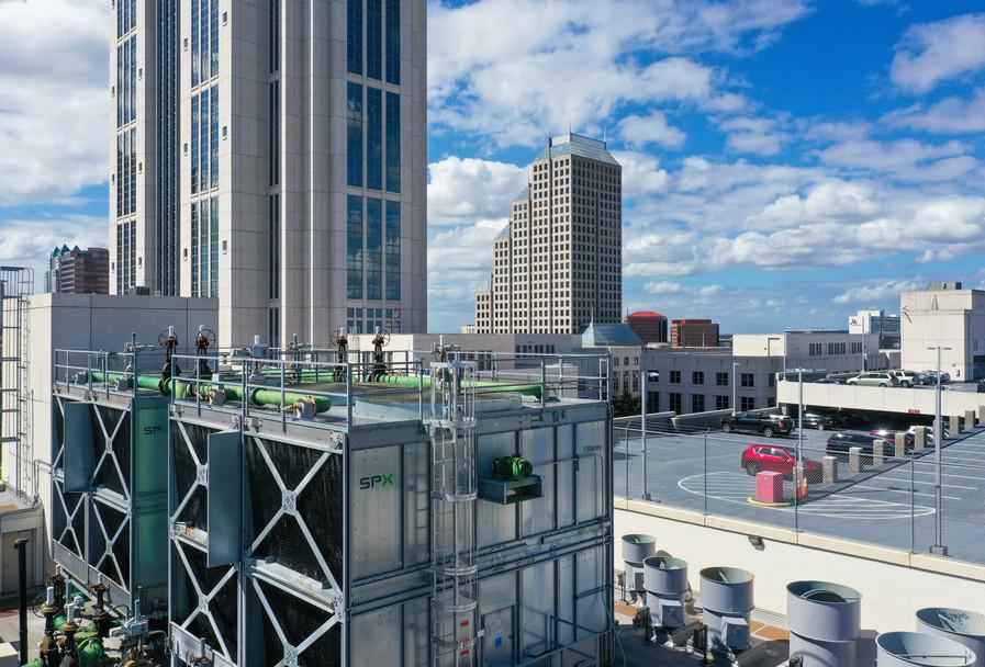 Downtown Orlando Skyline Photo