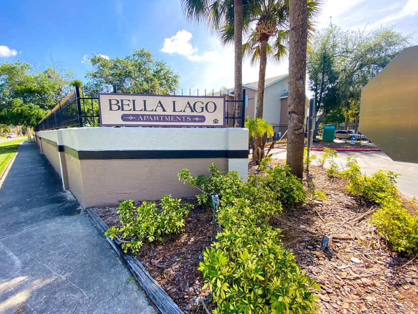 Bella Lago Monument Sign