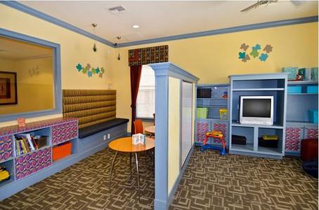 Kid's Playroom Interior