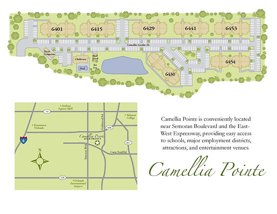 Camellia Pointe Community Map