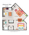 1 Bedroom, 1 Bath Floor PlanCove 1-1 A-3.jpg