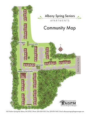 Albany Springs Community Map