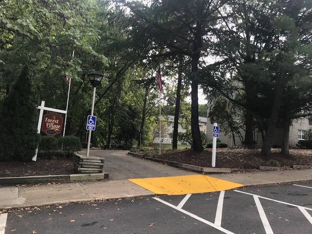 Forest Village Apartments Entrance Photo