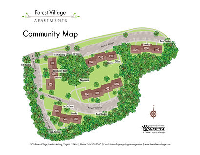 Forest Village Community Map