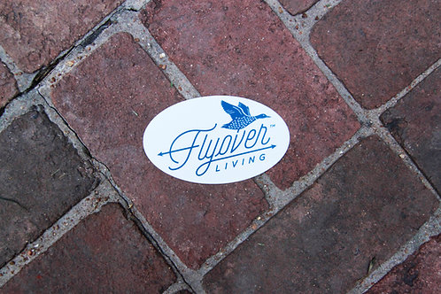 Flyover Living Sticker