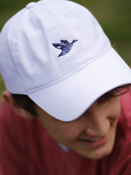Classic Clark Hat –White (3 stitch options)