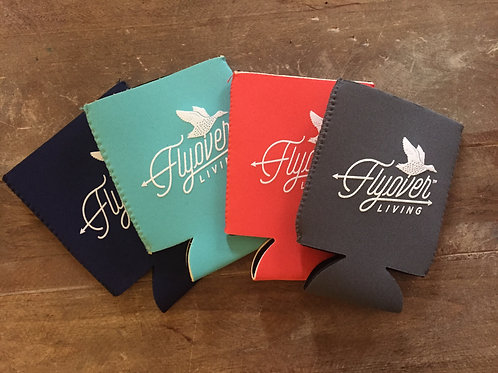 Flyover Living Signature Koozie