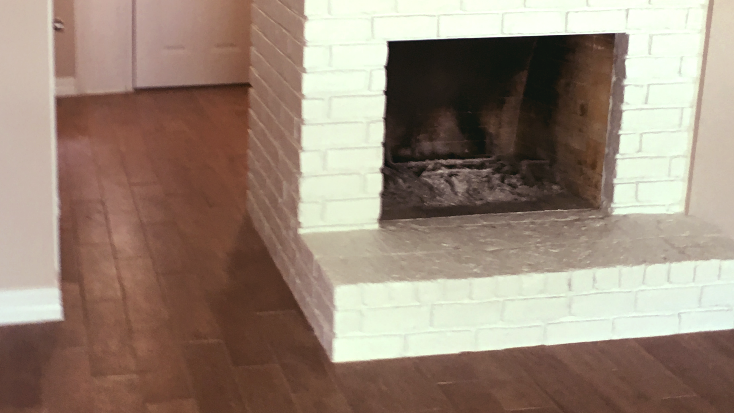 Entryway, Flooring and Fireplace