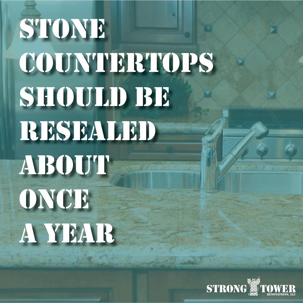 Stone countertop fact