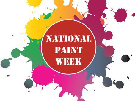 It's National Paint Week