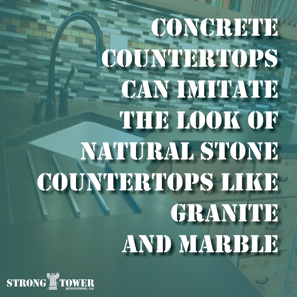 Concrete Countertop Fact