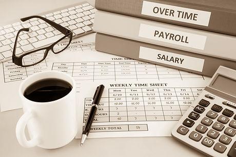 Human resources documents: payroll, sala