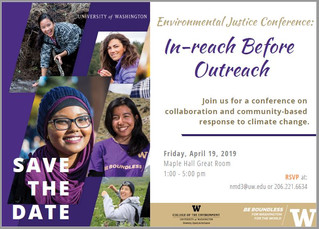 2019 Environmental Justice Conference: In-Reach before Outreach
