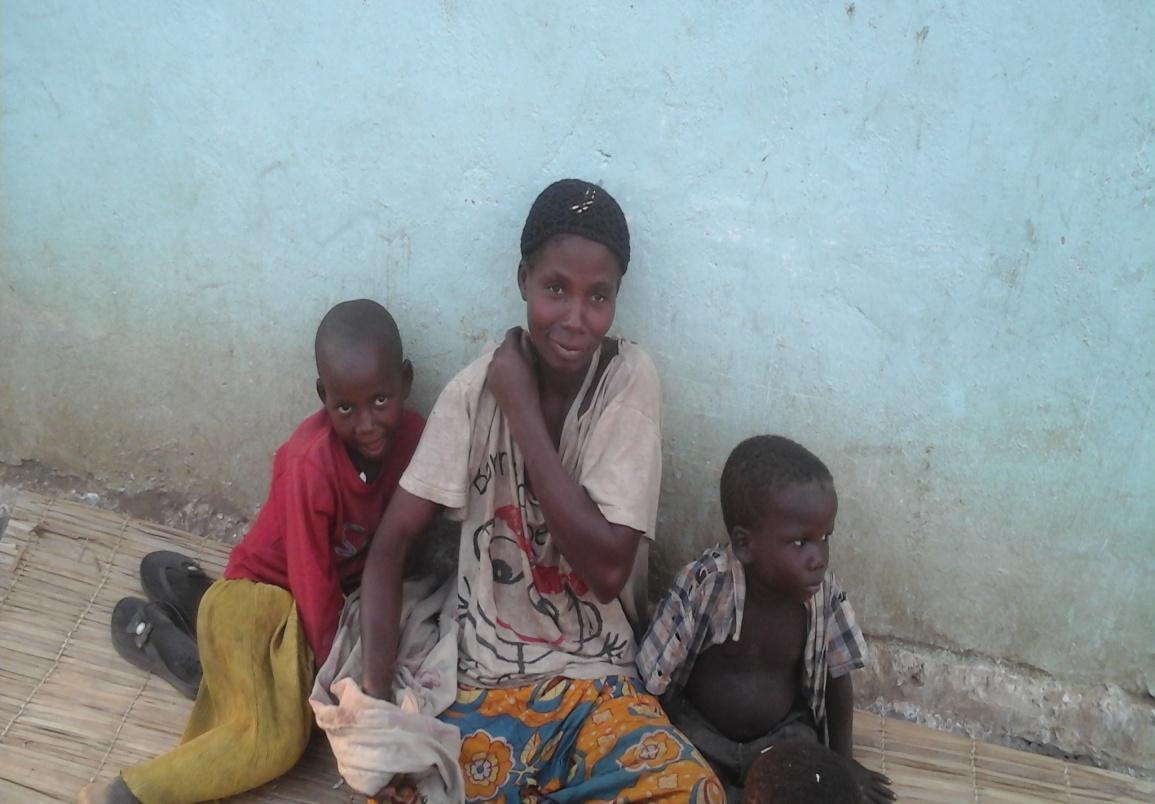 Irenye Leya and children