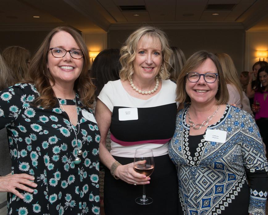 Pat Hoeg, Lorraine Winsor + Catherine Magnano