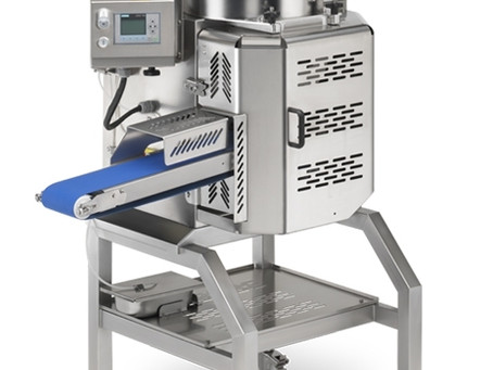 Hamburger forming machine with built-in meatball forming machine