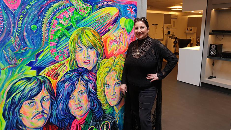 Rock Legends - Pop Art Gemälde
