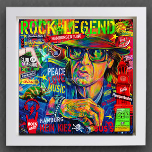 174 Rock Legend Collage