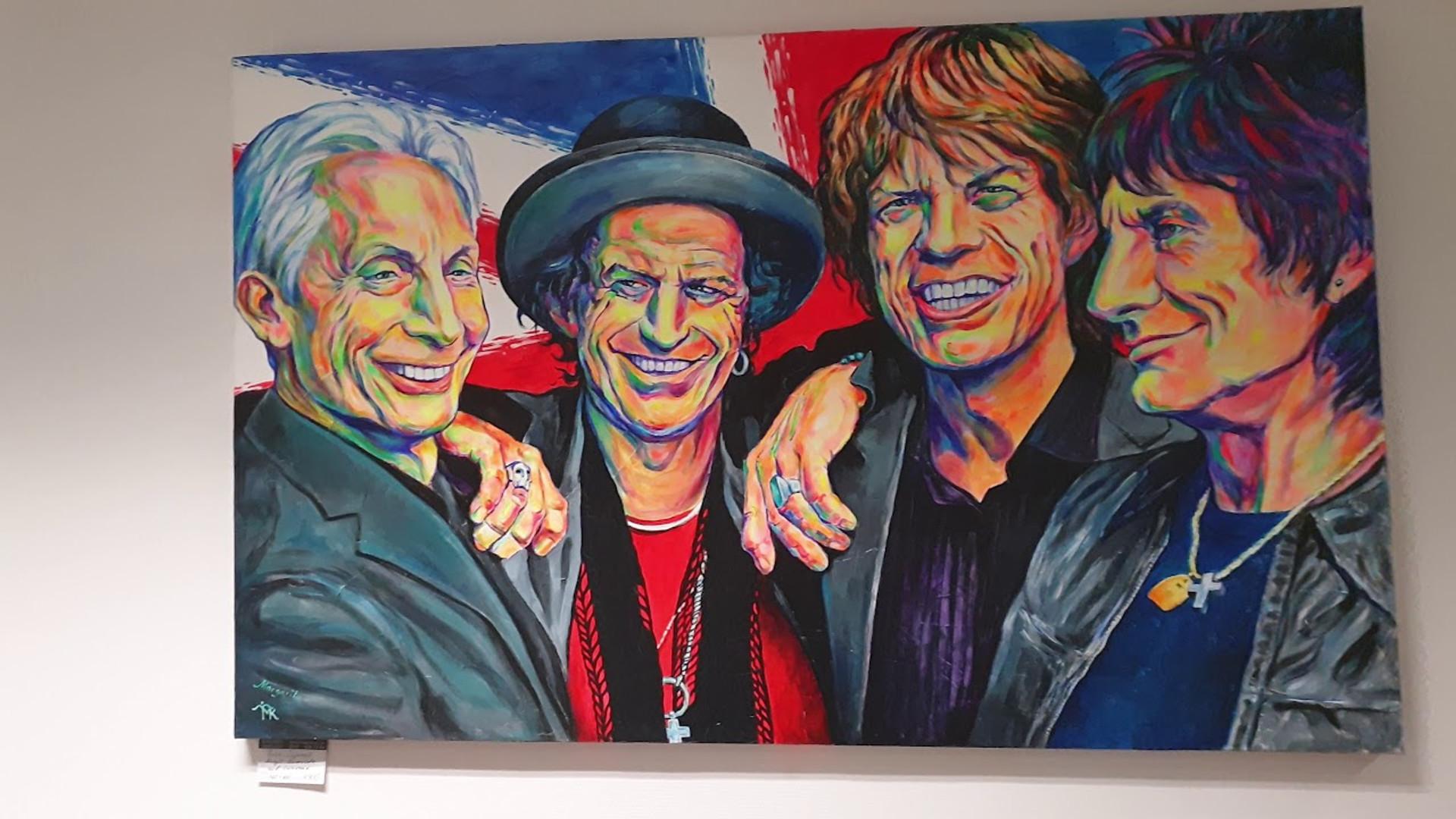 Midissage - Pop Art Gallery Margarita bei der HASPA Rahlstedt