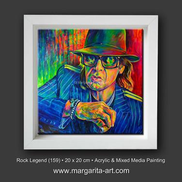 Rock Legend - Portrait