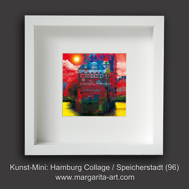 Hamburg Collage Speicherstadt 96