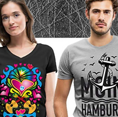 Designer T-shirts und Geschenke bestellen