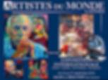 ARTISTES DU MONDE Cannes -Exposition Internationale 24. - 27. September 2015