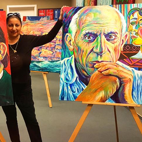 Pop Art Gallery Margarita in Hamburger AlsterCity