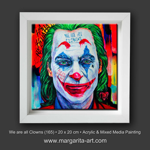 We are all Clowns - Pop Art