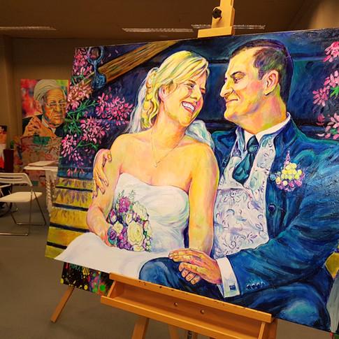 """Portrait """"Brautpaar"""""""