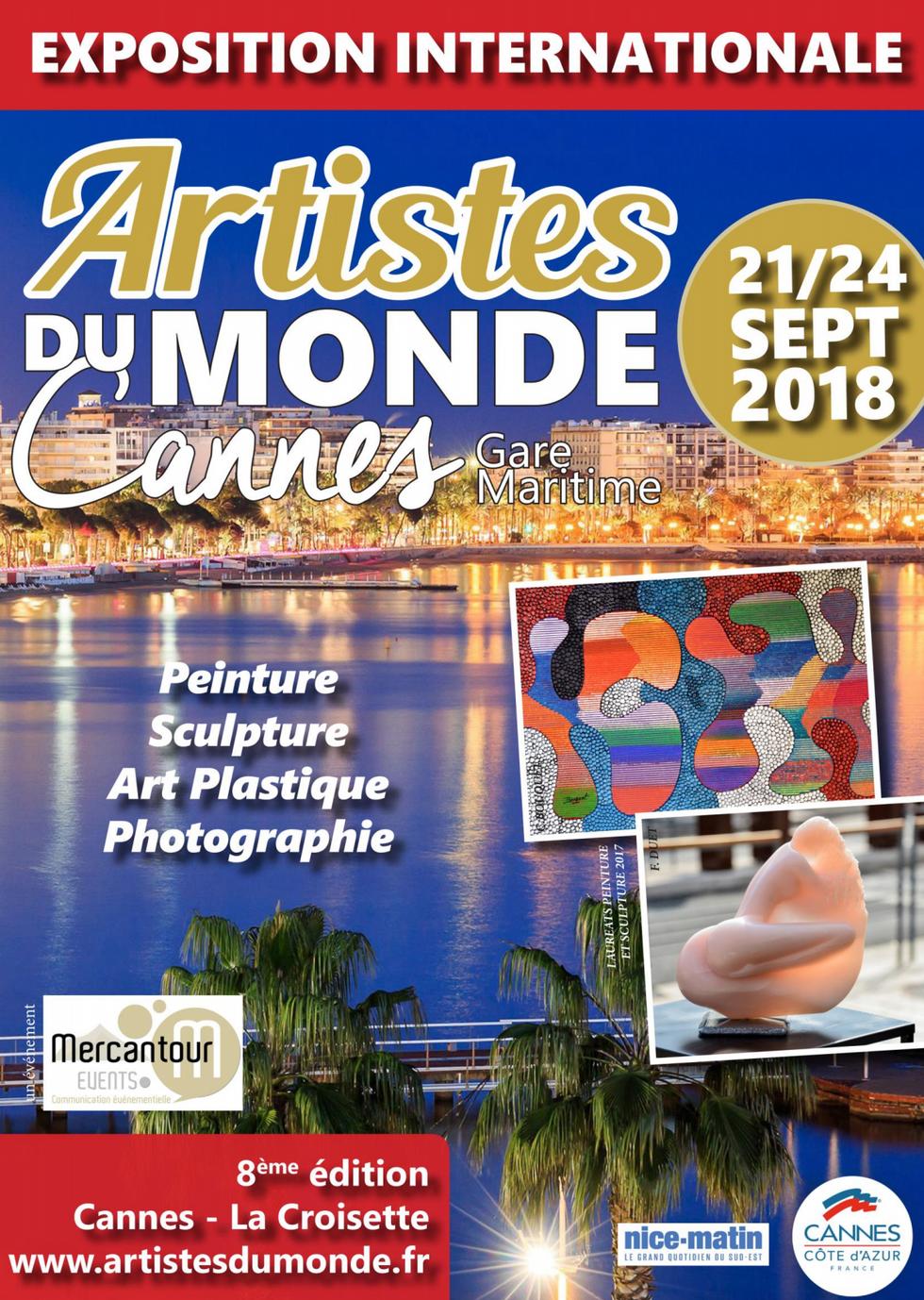ARTISTES DU MONDE Cannes 2018