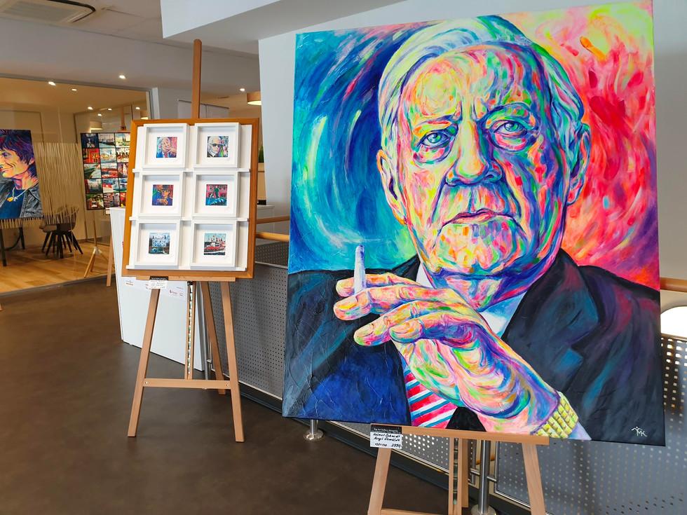 Pop Art Gallery Margarita bei der HASPA Ahrensburg