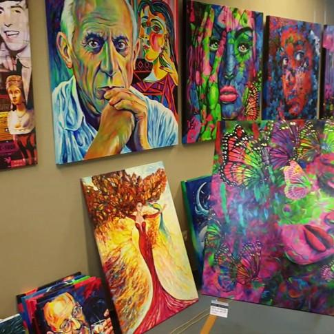 Pop Art Gallery Margarita AlsterCity Hamburg