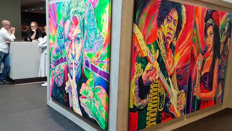 Fidelity Pop Art Ausstellung