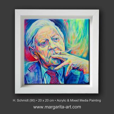 Helmut Schmidt Porträt