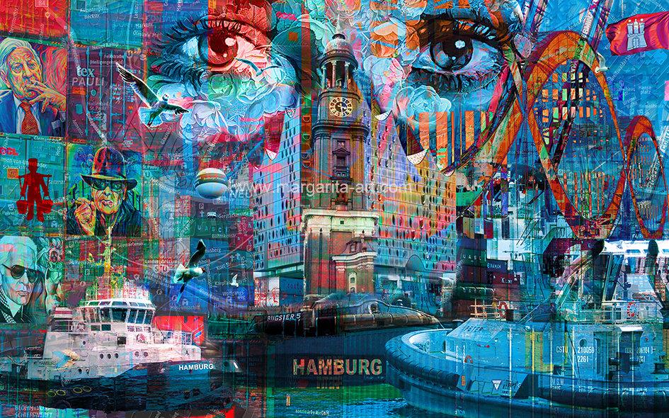 198 Faszination Hamburg Collage