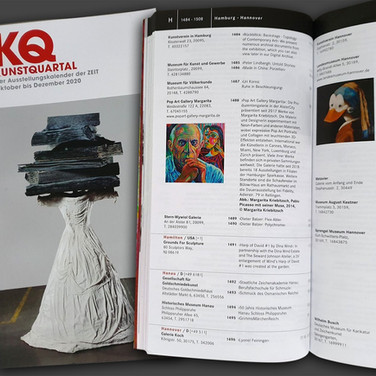Pop Art Gallery Margarita in der Ausgabe 4.20 KQ KUNSTQUARTAL