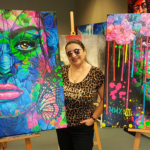 Pop Art Gallery Margarita Hamburg AlsterCity