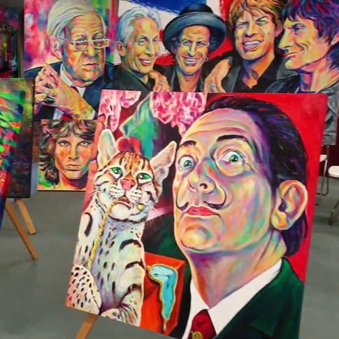 Pop Art Gallery Margarita in der AlsterCity