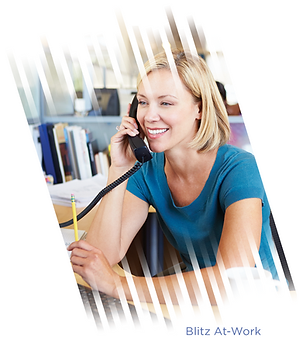 Learn about Blitz At-Work telemarketing from Point-To-Point Marketing
