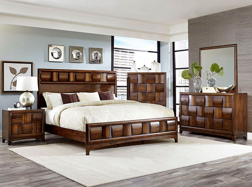 Brand  Homelegance Bedroom Set   1 Queen Bed Frame  1 Mirror  1 Dresser  1  Nightstand Colors  Brown. Porter Collection Queen Bedroom Set   Home   L B Discount Furniture