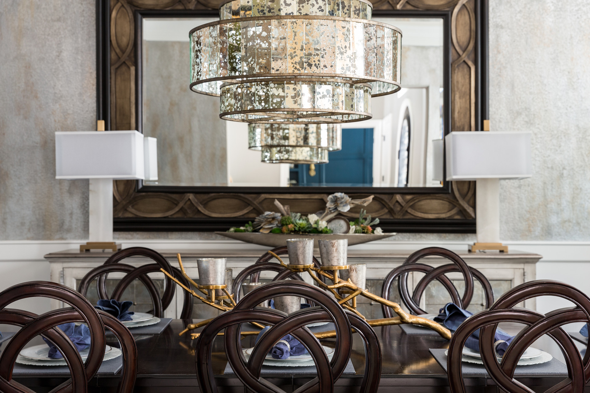 Transitional Dining Detail