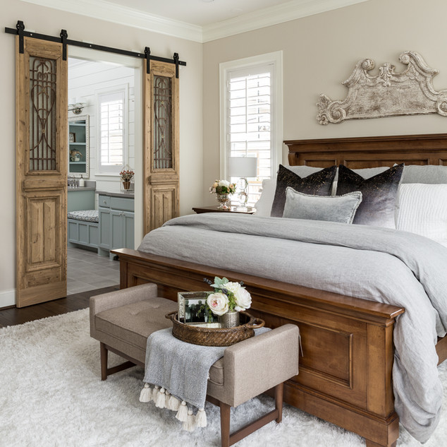 A Master Bedroom Filled with History