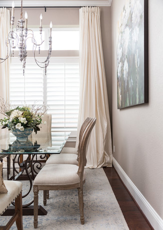Custom Silk Window Treatments