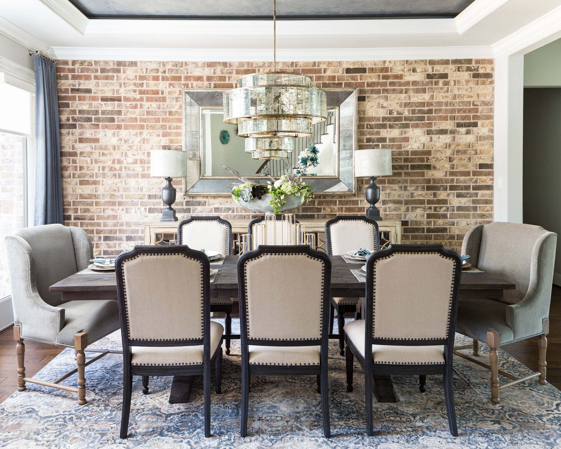 Dining Room Transitional decor