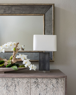Foyer Mirror and Accent Lighting