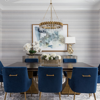 High Fashion Dining Room